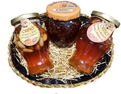 Honey Dipper Basket