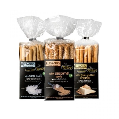 Tsanos Greek Homemade Breadsticks