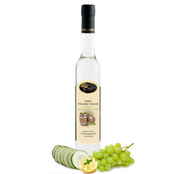Lemon Cucumber White Balsamic Vinegar