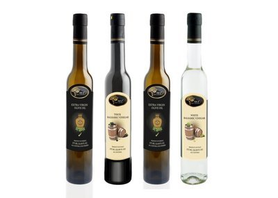 4 Bottle EVOO - Balsamic Combo