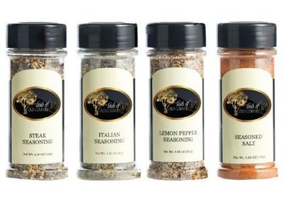 4 Pack Spices & Seasoning Combo