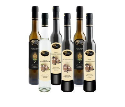 6 Bottle EVOO - Balsamic Combo