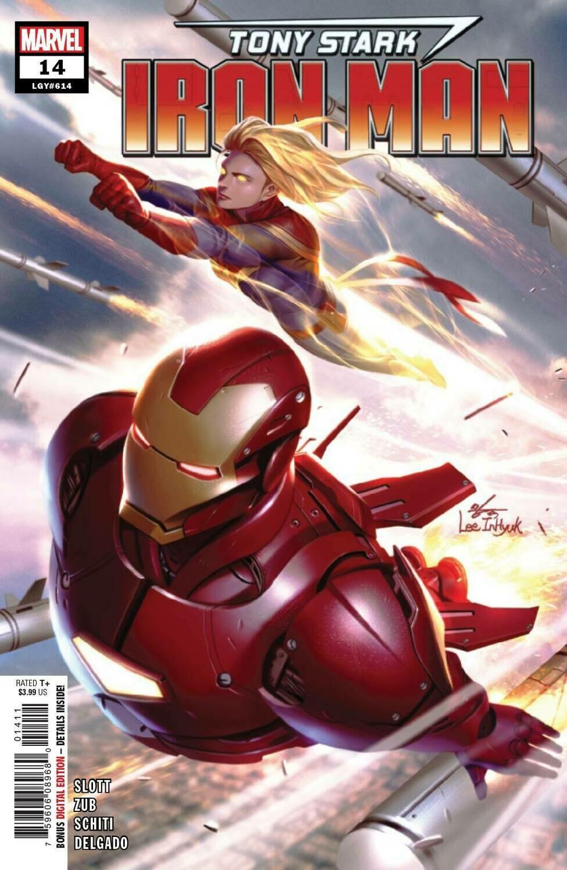 Tony Stark Iron Man 14 Marvel Comics 24th July 2019