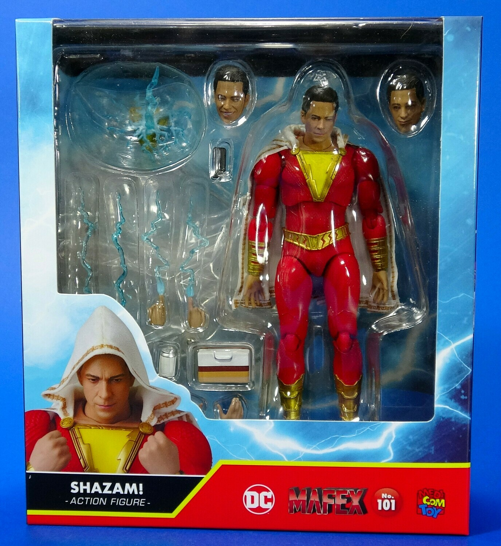 No.101 Shazam Action Figure Medicom MAFEX SHAZAM
