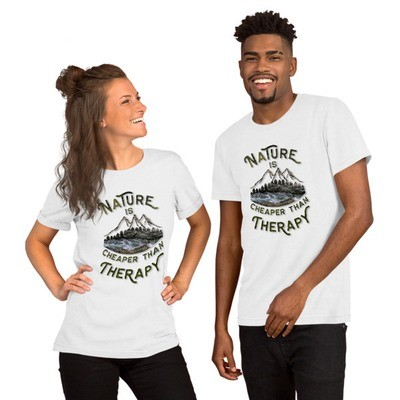 Nature Is Cheaper Than Therapy River Tee