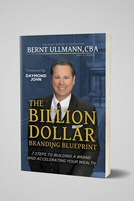 The Billion Dollar Branding Blueprint | Paperback