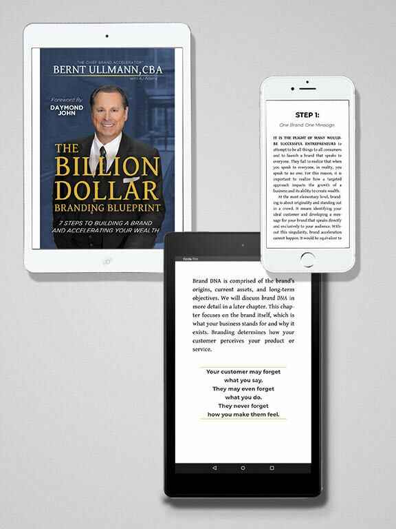 The Billion Dollar Branding Blueprint | Ebook