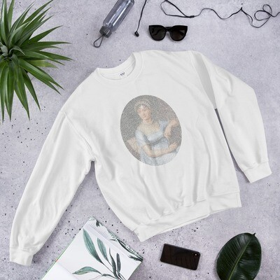 Jane Austen In Her Own Words Sweatshirt
