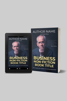 Premade Book Cover | Business/Memoir Genre