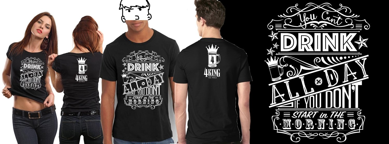 Half Hearted Headache T-Shirt - 4 King Ice Hole Employee Shirt