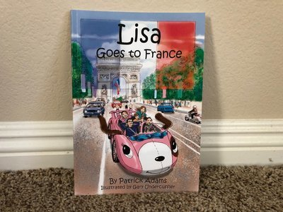 Lisa Goes to France - Autographed Book