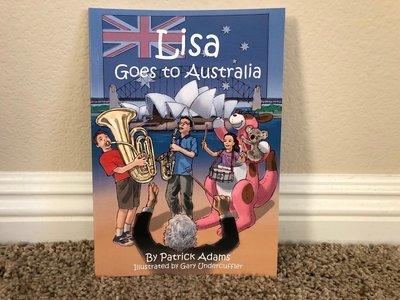 Lisa Goes to Australia - Autographed Book
