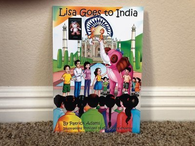 Lisa Goes to India - Autographed Book
