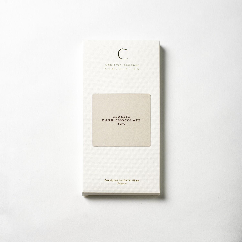 Classic dark chocolate 53% - 100Gr.
