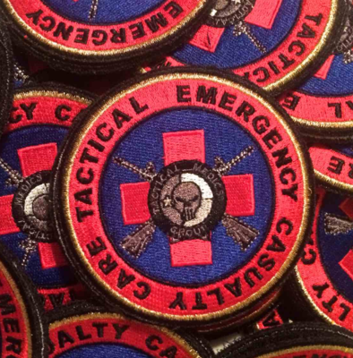 Tactical Medics Group - TECC Cloth Patch