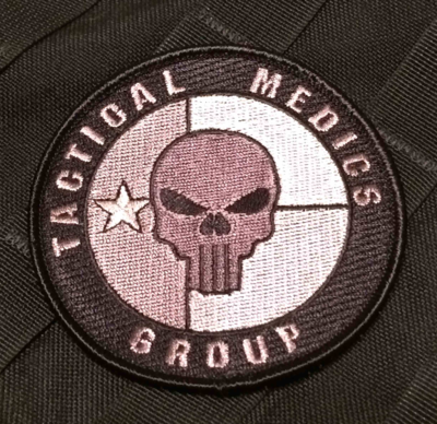 Tactical Medics Group 3.5in Moral Patch