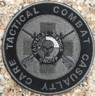 Tactical Medics Group - TCCC Patch