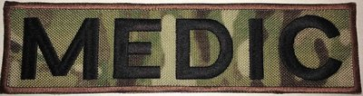 MEDIC 2x8in MULTICAM -Black TEXT