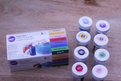 Wilton Gel Colour Set