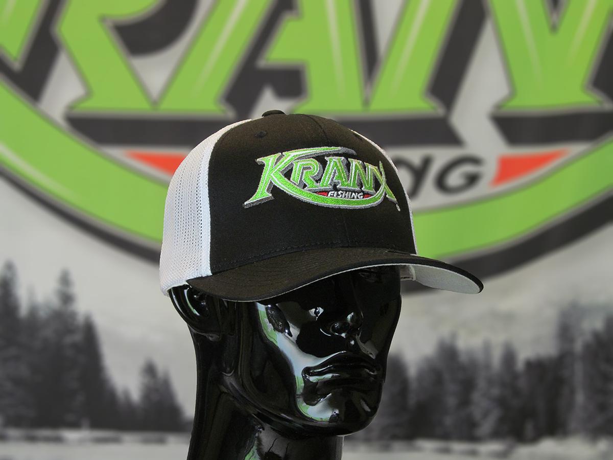 White Kranx FLEXFIT Hat 00105