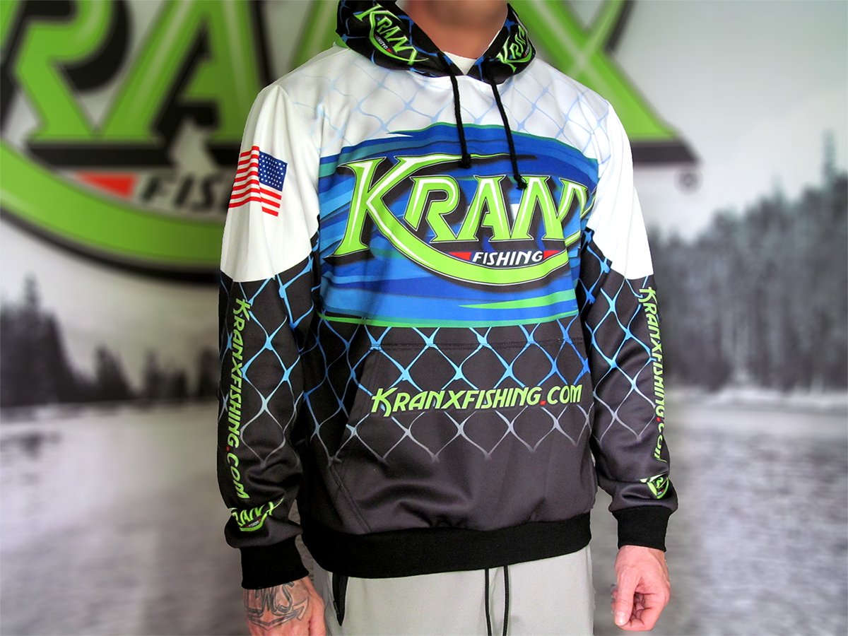 COMING SOON Kranx Fishing Official Team Hoodie 00107