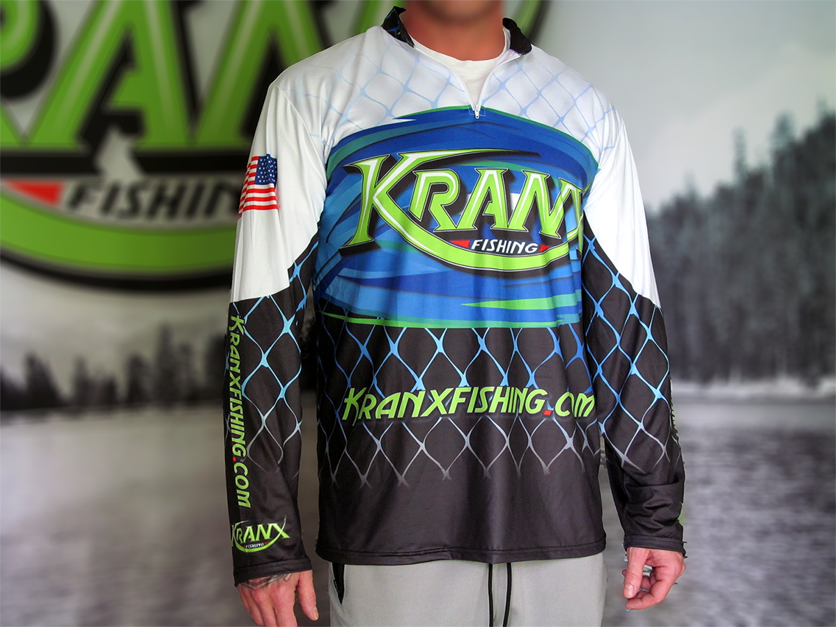 Kranx Fishing Official Team Jersey 00108