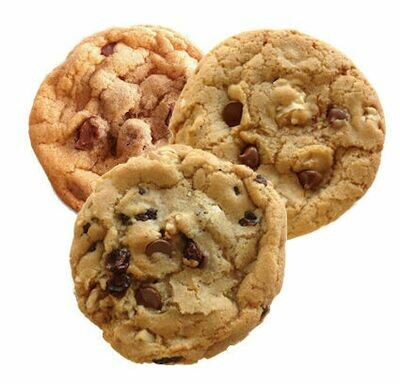 Bumzy's Chocolate Chip Cookie Sampler