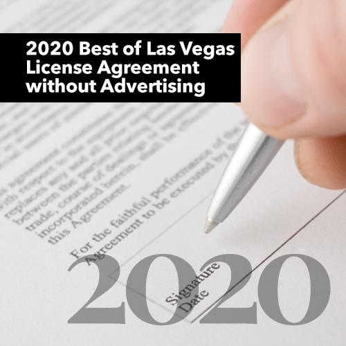 Best of Las Vegas Winner's 2020 Logo Rights
