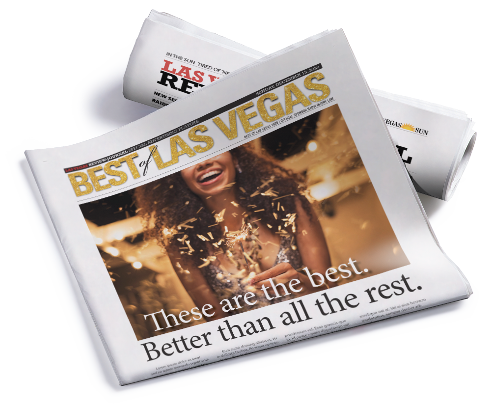 Sunday Best of Las Vegas Section -  Eighth Page