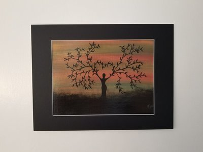 """Mother Tree Painting 16""""x 12"""""""