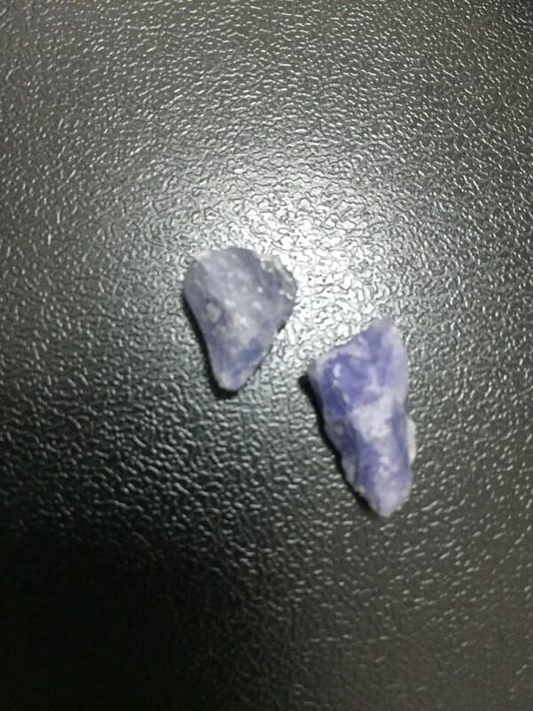 Tanzanite (not gemmy)