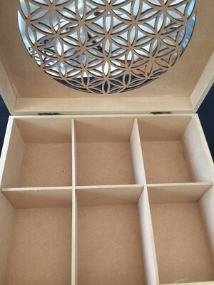 Flower of Life Teabox/Crystal Box/Jewellery Box