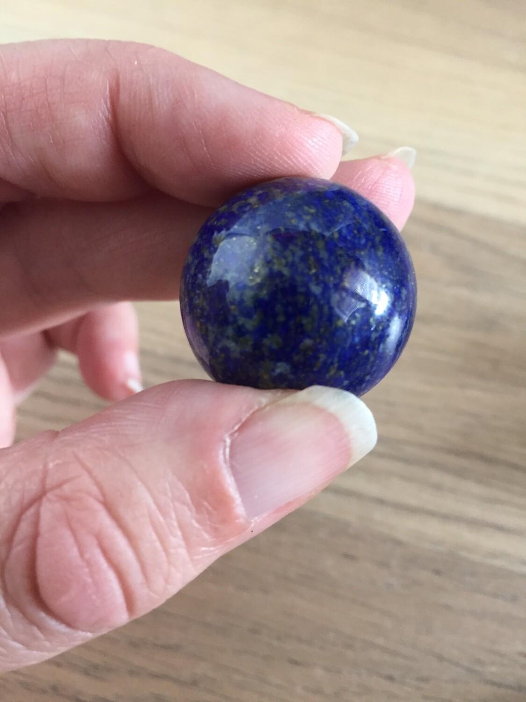 Mini Lapis Lazuli Sphere