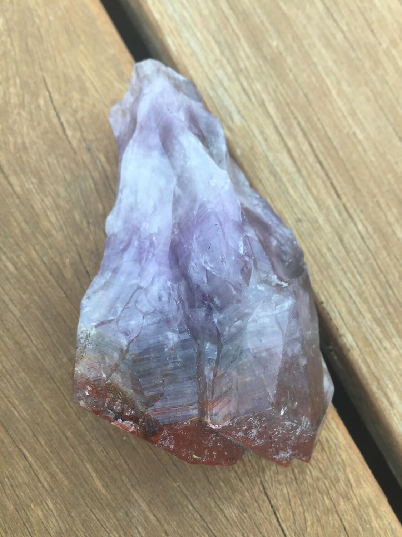 Red Amethyst raw