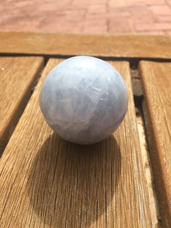 Blue Calcite Sphere Ball