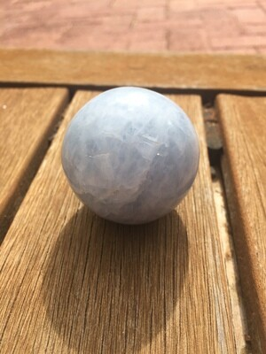 Blue Calcite Sphere Ball