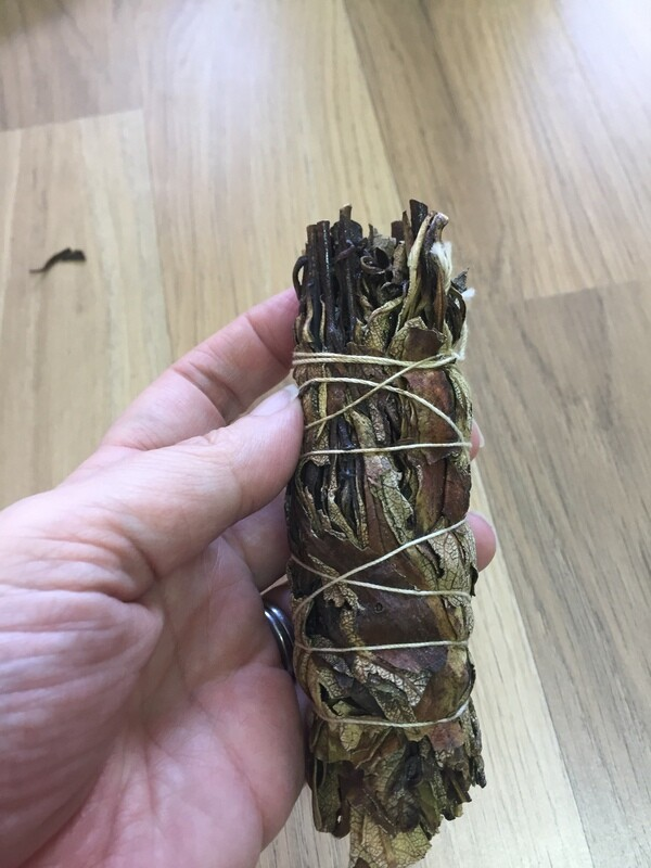 Yerba Santa small smudge stick bundles