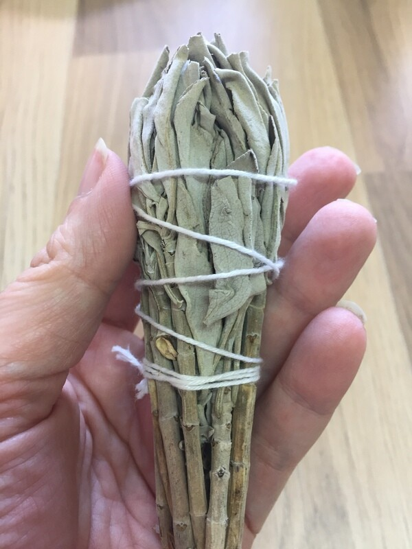 White Sage small smudge stick bundles