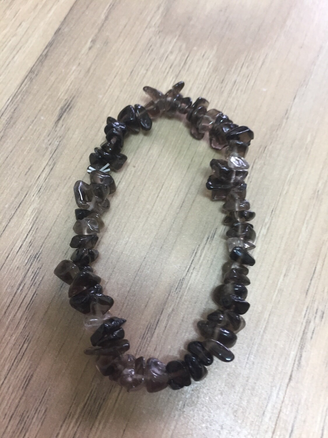 Chip Bracelet: Smoky Quartz