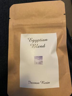 EGYPTIAN TEMPLE Resin