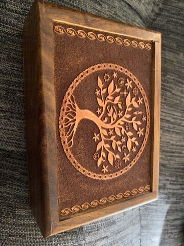 Tree of Life Tarot/Oracle Card Box