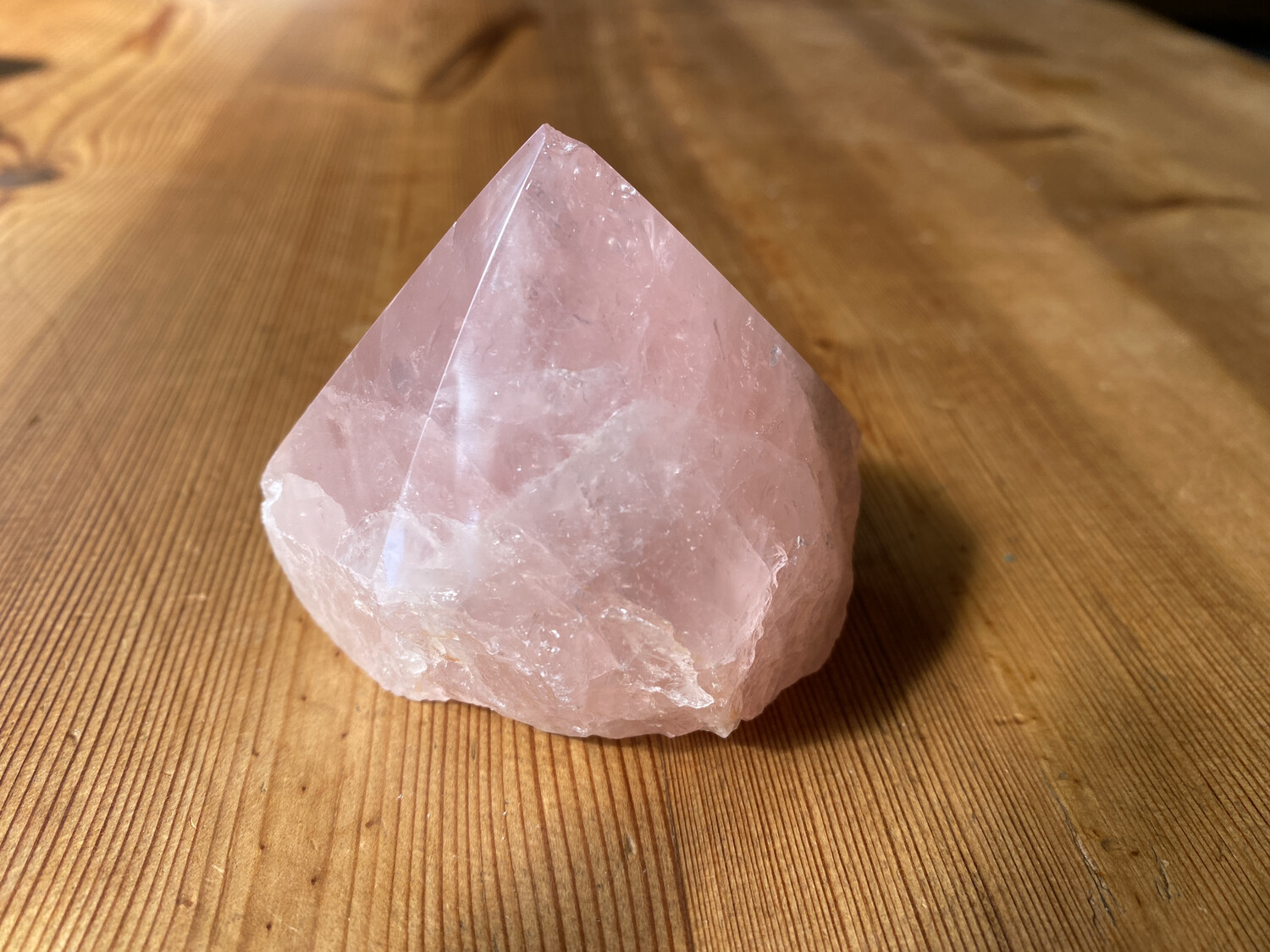 Rose Quartz tower 147g