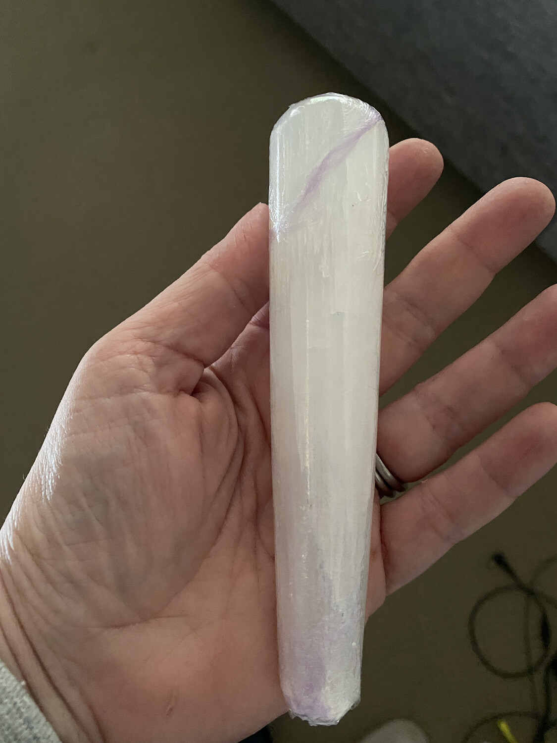 Selenite Massage Wand