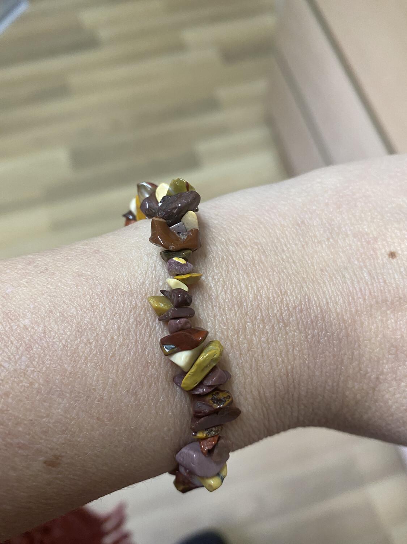 Mookaite Jasper bracelet