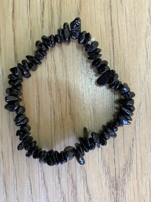 (Black) Tourmaline Chip bracelet