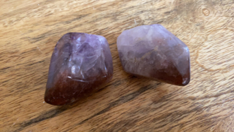 Red Amethyst Polished Point