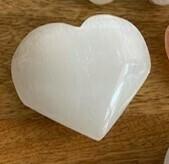 Selenite Heart medium