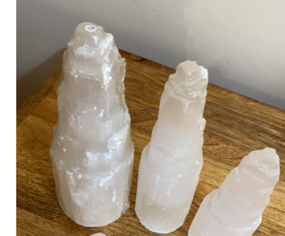 Selenite Tower Large 30cm tall