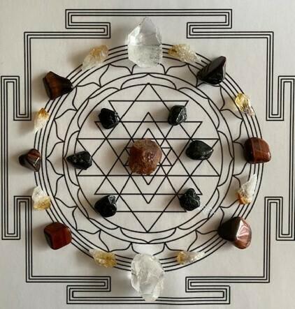 A4 Grid Kit Meditation