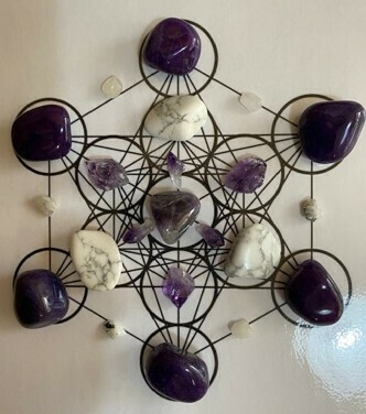 A4 Grid Kit Psychic Intuition and Brow Chakra Expansion